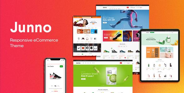 Wordpress Shop Template Junno - Multipurpose WooCommerce WordPress Theme