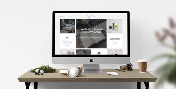 Wordpress Kreativ Template Ridgewood Contemporary Portfolio for Creatives with Visual Composer
