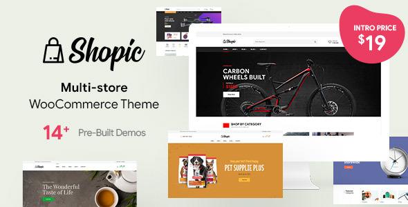 Wordpress Shop Template Shopic - Multipurpose WooCommerce WordPress Theme