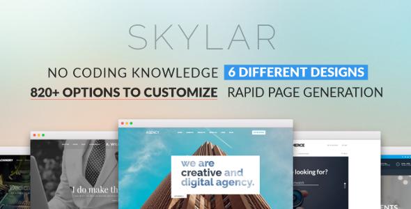 Wordpress Immobilien Template Skylar - Fast, Optimized & Highly Customizable Multi-Purpose WordPress Theme