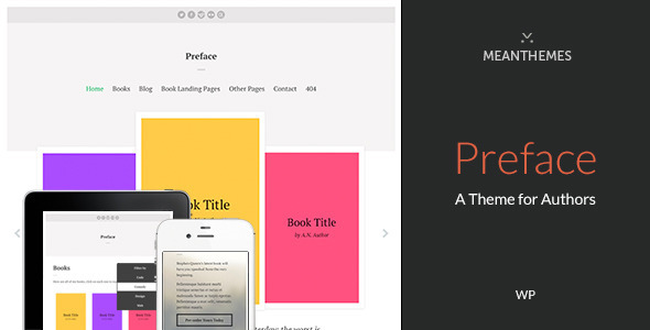 Wordpress Corporate Template Preface: A WordPress Theme for Authors