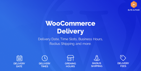 Wordpress E-Commerce Plugin WooCommerce Delivery —Delivery Date & Time Slots