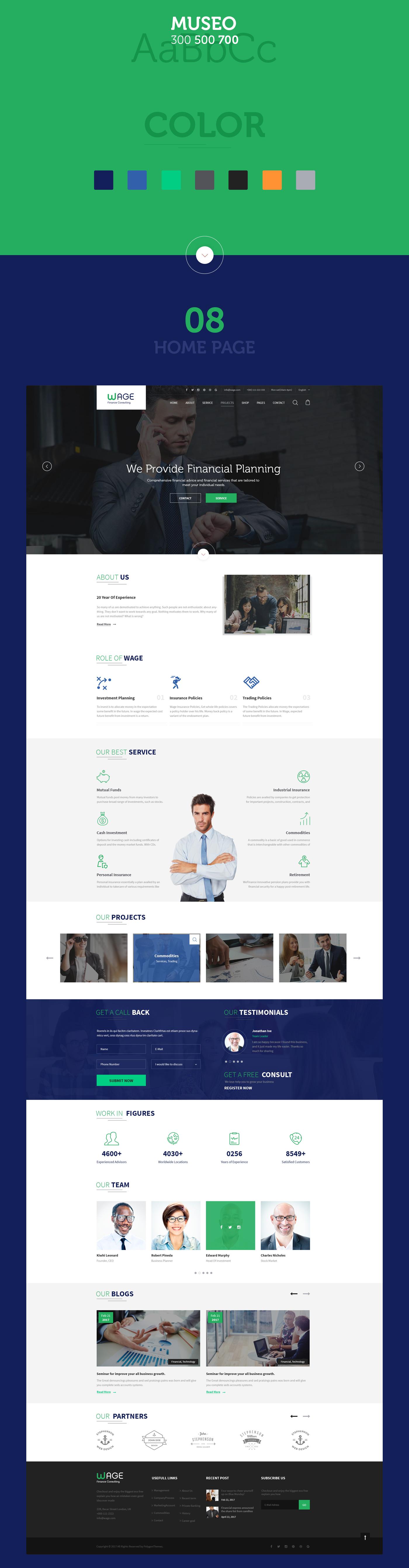 Lohn - Business und Finanzen WordPress Theme - 11