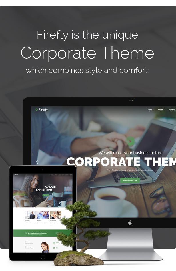 Firefly - Responsive Multi-Purpose WordPress Theme - 1