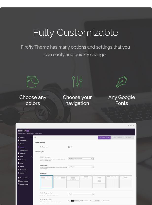 Firefly - Responsive Mehrzweck-WordPress-Theme - 6