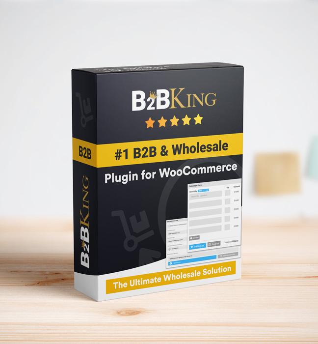 WooCommerce Hide Preise, Produkte und Shop von B2BKing - 13