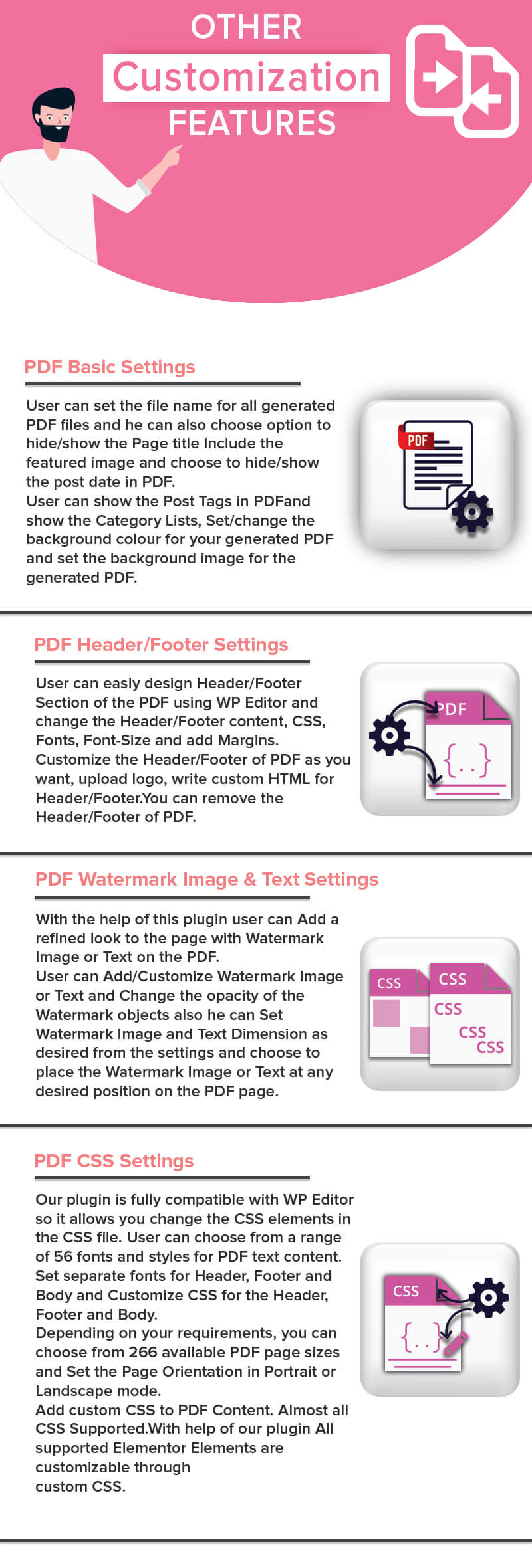 PdfMentor - WordPress PDF Generator für Elementor PRO - 8