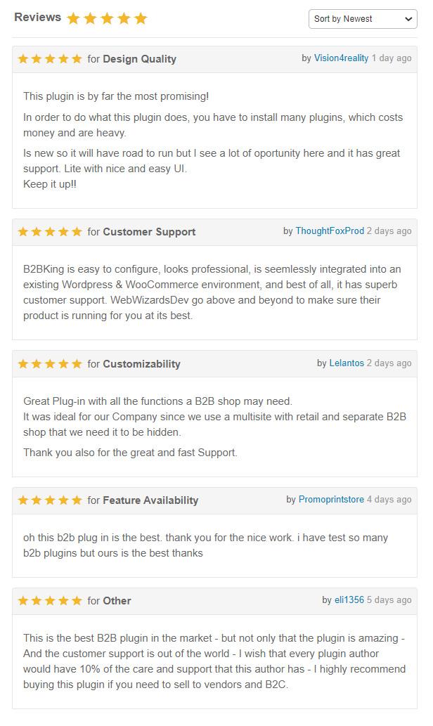 WooCommerce Hide Preise, Produkte und Shop von B2BKing - 14