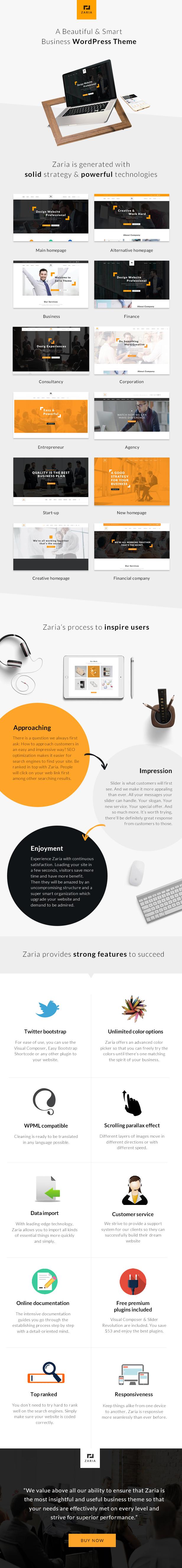 Ein WordPress-Theme für Unternehmen und Konzerne