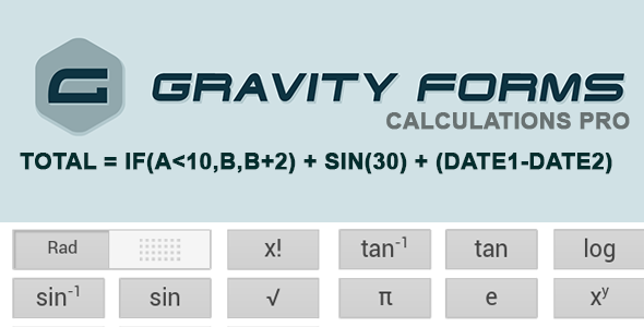 Wordpress Formular Plugin Gravity Forms Calculations Pro