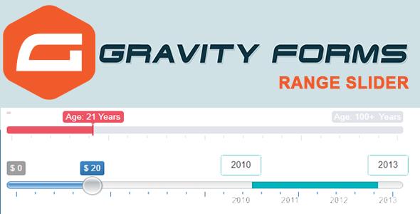 Wordpress Formular Plugin Gravity Forms Range Slider Pro