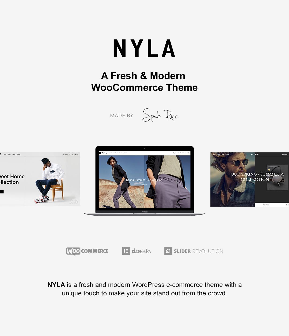 Nyla - Ein frisches und modernes WooCommerce-Thema - 4