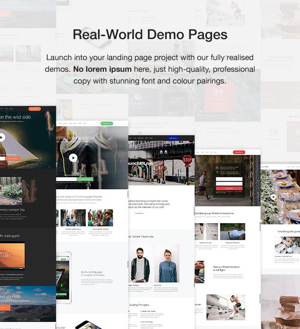 Launchkit Landing Page & Marketing WordPress Theme - 6