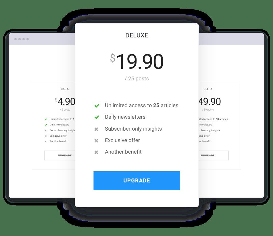 Jeg Paypal Paywall & Content-Abonnementsystem - WooCommerce Plugin - 5