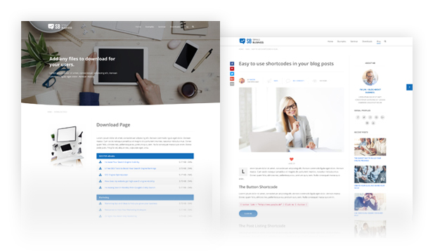 Small Business CD - Modern Blog & Website WordPress Theme for Start Up ideas - 26