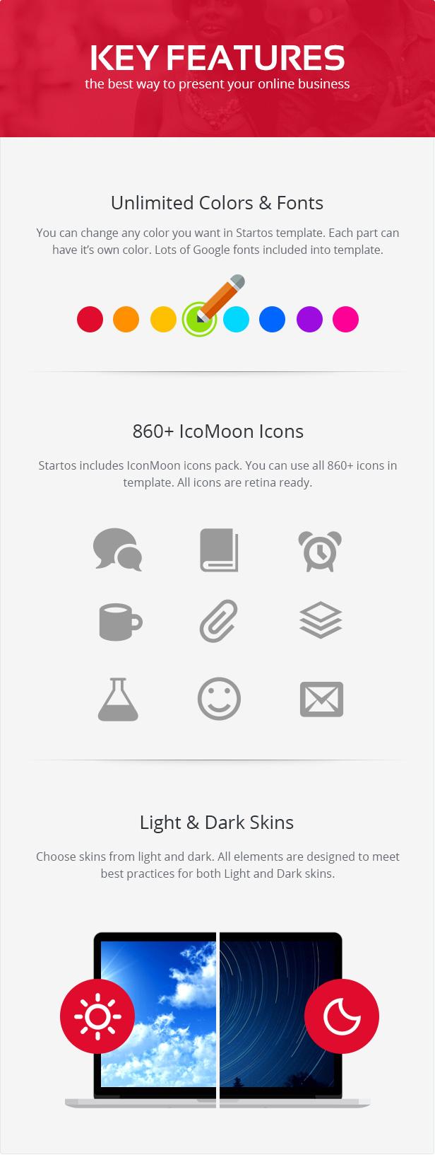 Startos - Moderne App Landing Page WordPress Theme - 3