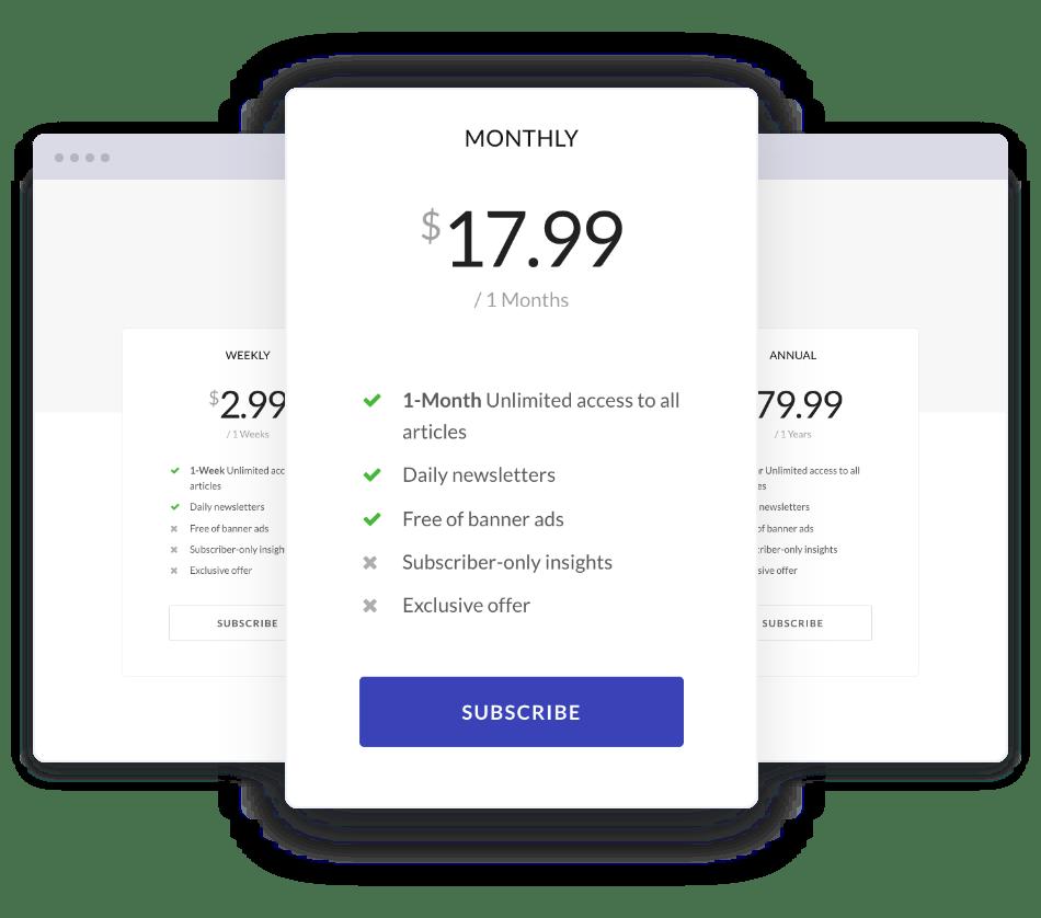 Jeg Paypal Paywall & Content-Abonnementsystem - WooCommerce Plugin - 4