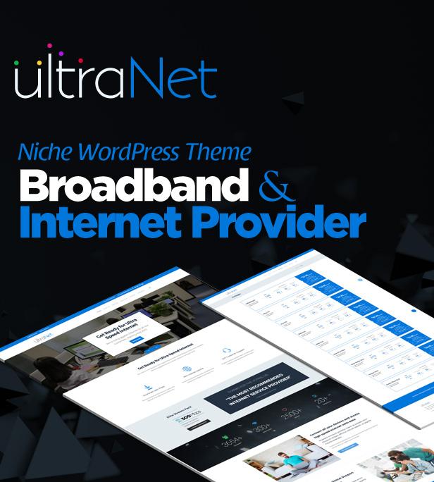 UltraNet - Breitband- und Internetdienstanbieter WordPress Theme - 5