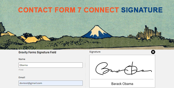 Wordpress Formular Plugin Contact Form 7 Signature