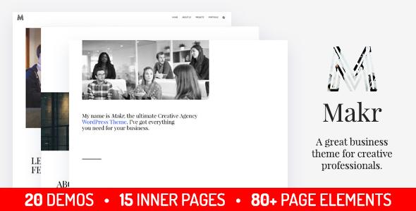 Wordpress Immobilien Template Makr - Multi Purpose Business WordPress Theme