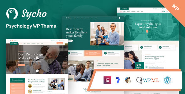 Wordpress Immobilien Template Sycho - Psychology and Counseling WordPress Theme