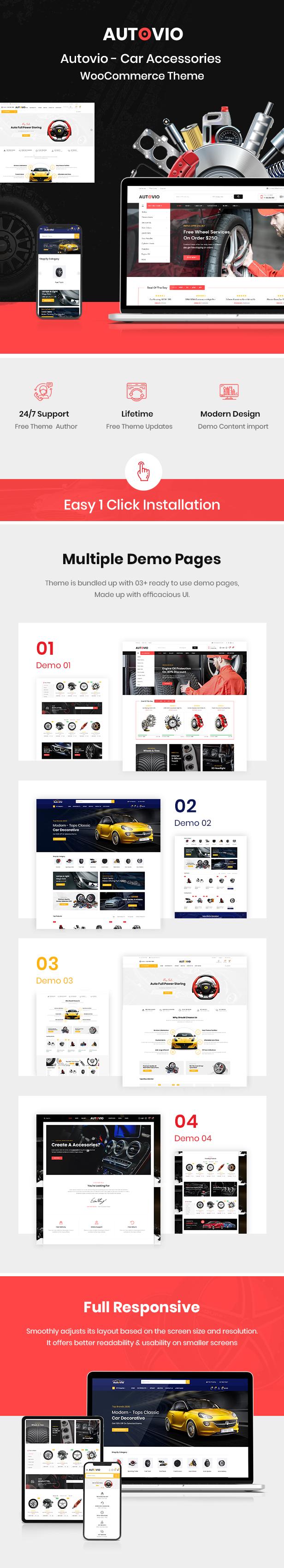 Autoteile und Zubehör WooCommerce Theme