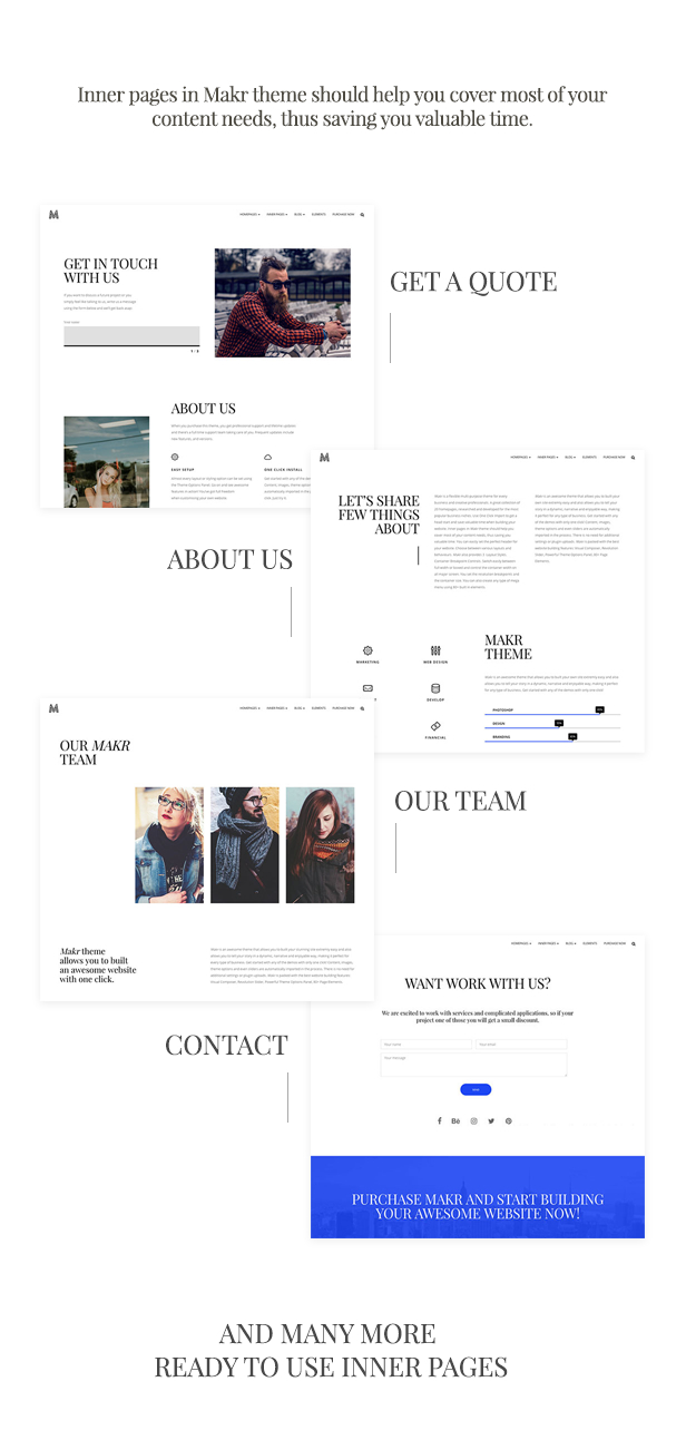 Makr - Mehrzweck-Business-WordPress-Theme - 3