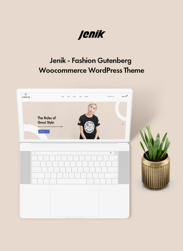 Jenik Gutenberg Fashion WooCommerce Theme - banner1