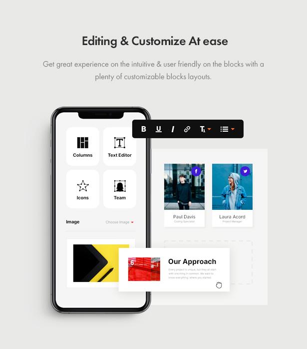 Jenik Gutenberg Fashion WooCommerce Theme - Ease to Edit & Customize
