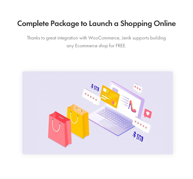 Jenik Gutenberg Fashion WooCommerce Theme - Ready to Launch Shopping Online