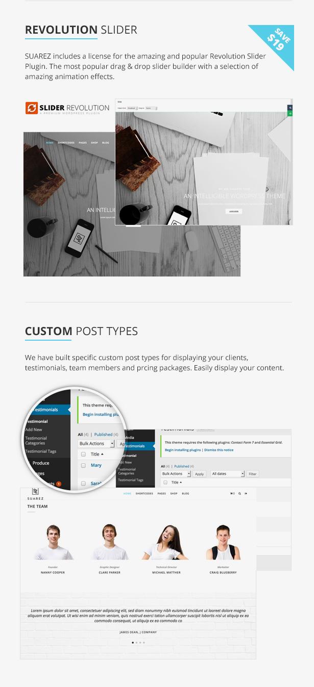 Trendy - MultiPage Corporate WordPress Theme - 7