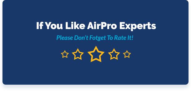airpro themenbewertung