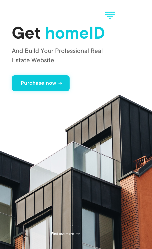 HomeID - HTML-Vorlage für Immobilien