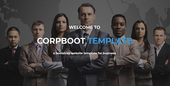 Wordpress Immobilien Template Corpboot - Corporate Website WordPress Theme