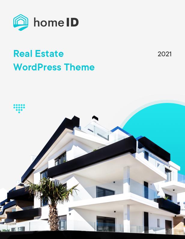 Wordpress Immobilien Template HomeID - Real Estate WordPress Theme