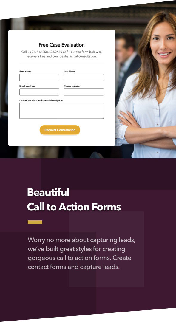 Anwalt - Anwaltskanzlei und Rechtsanwalt WordPress Theme - 4