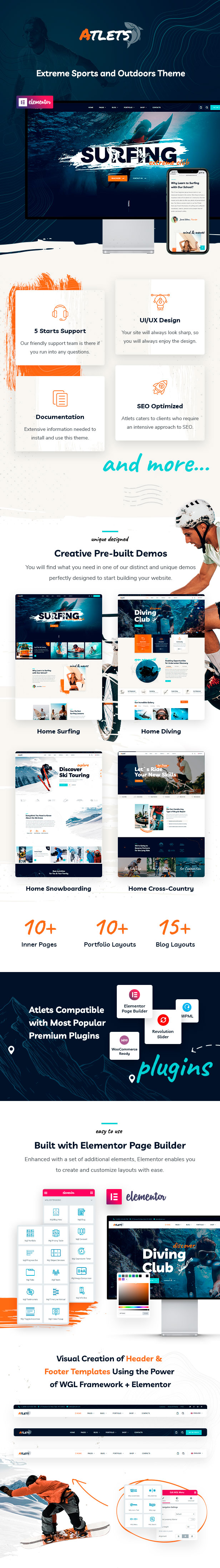 Atlets - Extreme und Outdoor WordPress Theme - 2
