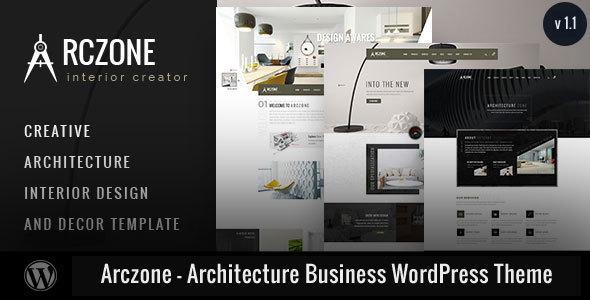Wordpress Immobilien Template Arczone - Architecture Business WordPress Theme