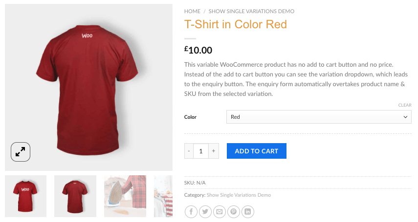 Wordpress E-Commerce Plugin WooCommerce Product & Variation Gallery Images