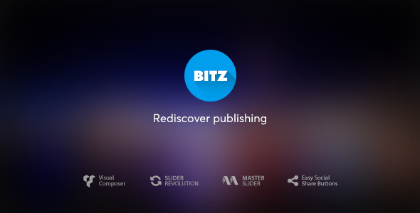 Wordpress Blog Template Bitz - News & Publishing Theme