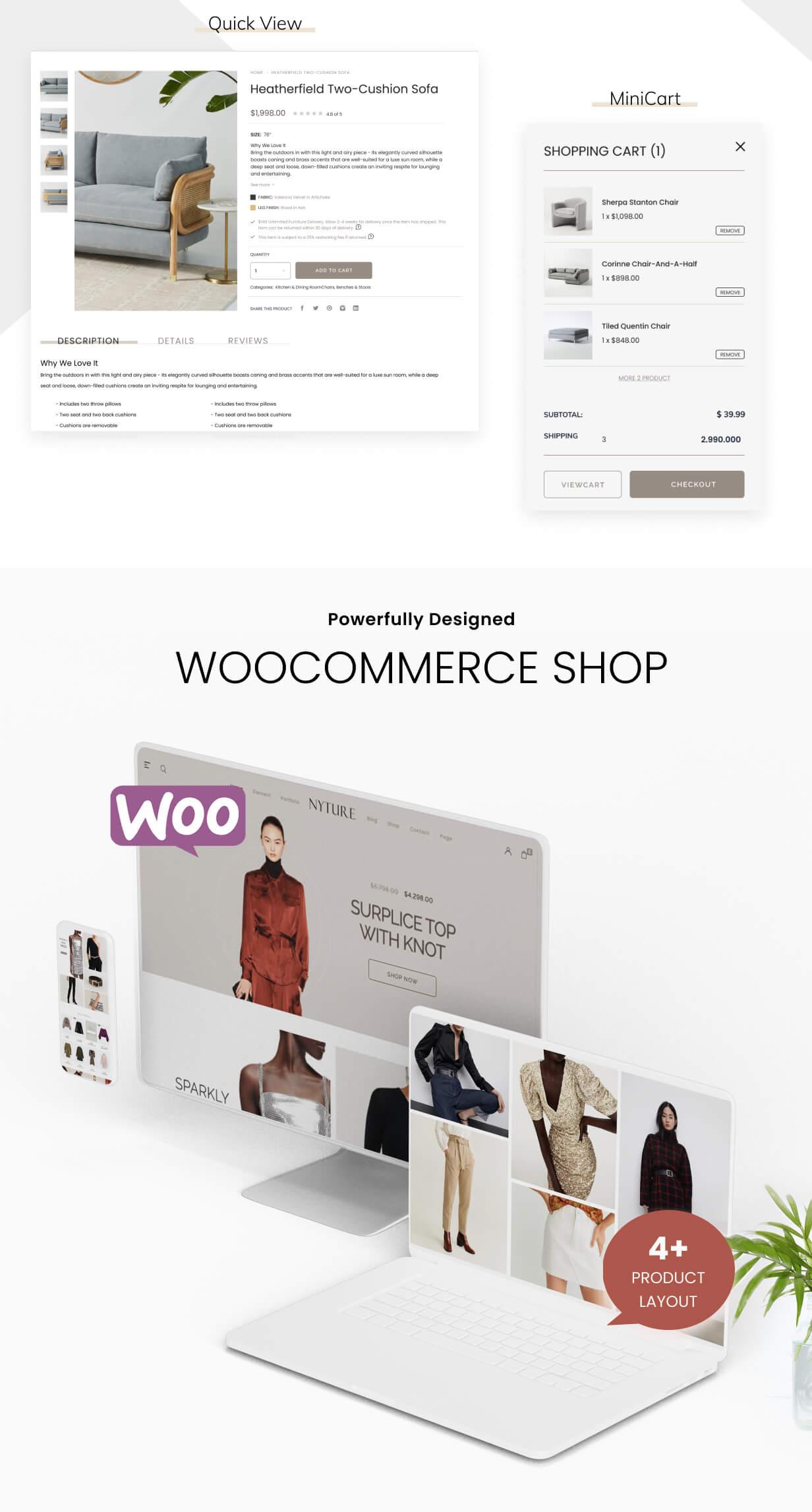 Nyture - Elementor WooCommerce Theme - 5
