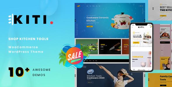 Wordpress Shop Template Kiti – Kitchen WooCommerce WordPress Theme