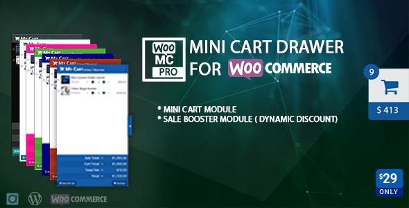 Wordpress E-Commerce Plugin Mini Cart Drawer For WooCommerce