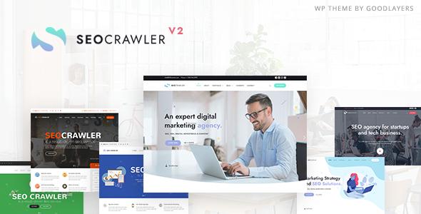 Wordpress Immobilien Template SEOCrawler - SEO & Marketing Agency WordPress