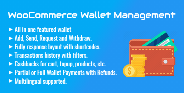 Wordpress E-Commerce Plugin WooCommerce Wallet Management | All in One