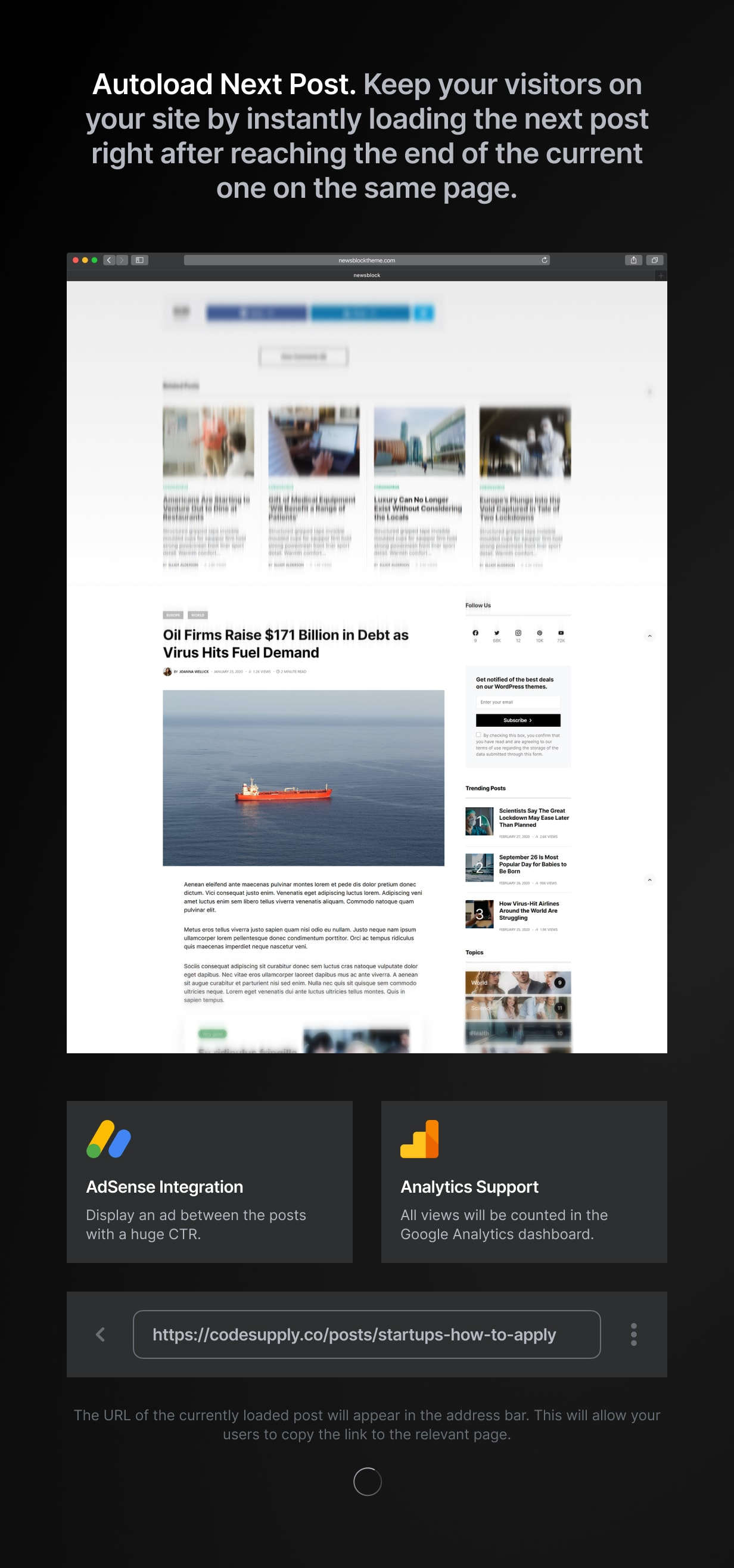Newsblock - News & Magazine WordPress Theme with Dark Mode - 12