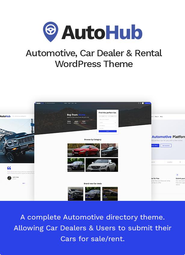 Autohub - Thema Automobil- und Autohändler - 4