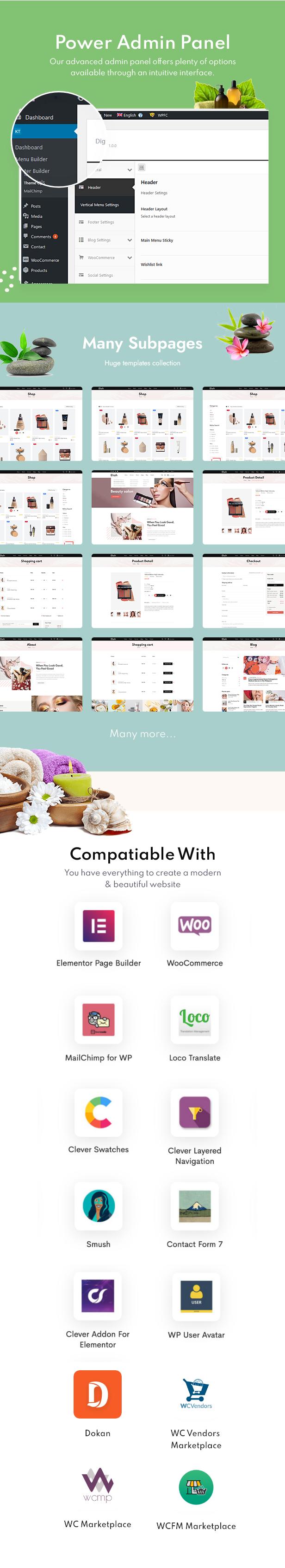 Eliah - WooCommerce WordPress Theme - 2
