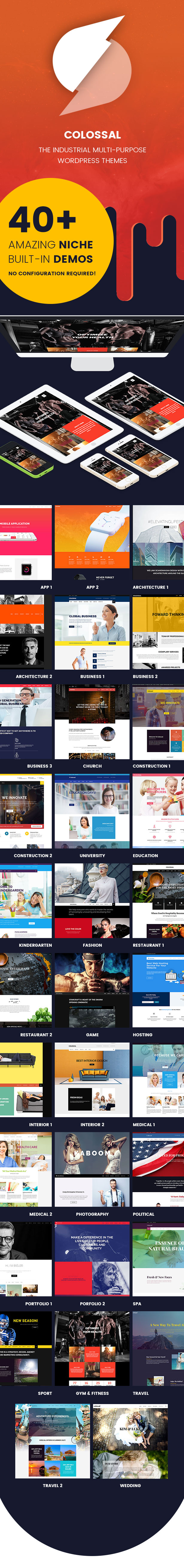 Colossal - Industrielles Mehrzweck-WordPress-Theme - 6