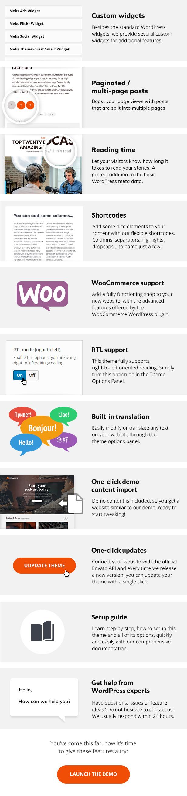 Megaphon WordPress Theme